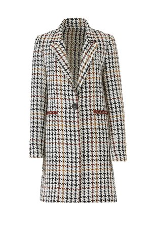 Houndstooth Nola Coat by Waverly Grey for $60   Rent the Runway