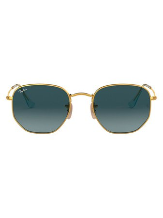 Ray-Ban, hexagonal-frame Sunglasses