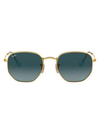 Ray-Ban, hexagonal-frame Sunglasses