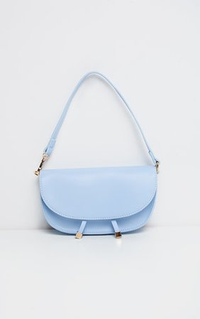 Blue Mini Shoulder Bag | Accessories | PrettyLittleThing