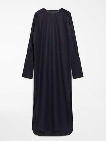 """Wool flannel dress, ultramarine - """"VENUSIA"""" Max Mara"""