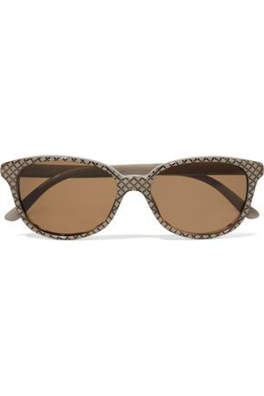 Round-frame printed acetate sunglasses | GUCCI | Sale up to 70% off | THE OUTNET