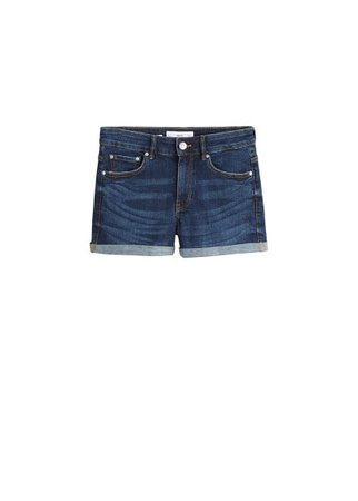 MANGO Vicky denim short