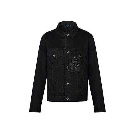 Louis Vuitton Staples Edition Dna Denim Jacket