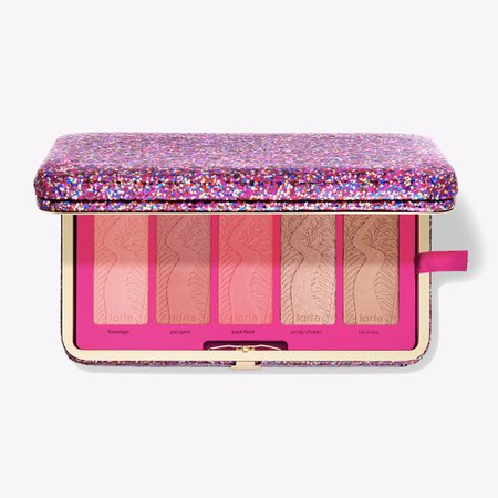 Life Of The Party Clay Blush Palette & Clutch | Tarte Cosmetics