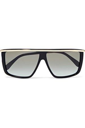 Givenchy   D-frame gold-tone and acetate sunglasses   NET-A-PORTER.COM