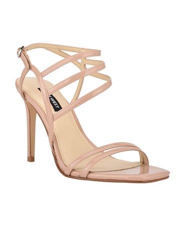 Nine West Women's Zana Strappy Evening Stiletto Dress Sandals & Reviews - Sandals - Shoes - Macy's