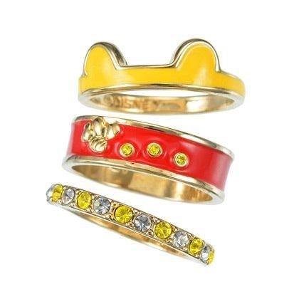 Winnie the Pooh Ring Set - Tokyo Disney