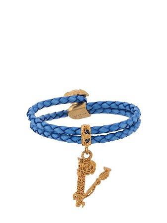 Versace Virtus Braided Bracelet - Farfetch