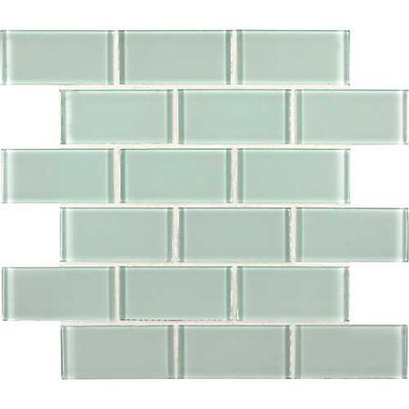 MSI Stone ULC Arctic Ice Subway 2-inch x 4-inch x 8 mm Glass Mesh-Mounted Wall Tile (10 sq. ft. / case) | The Home Depot Canada