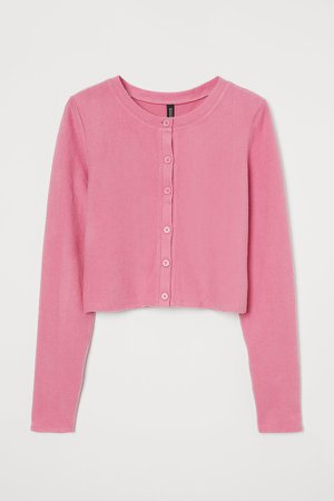 Short Cardigan - Pink