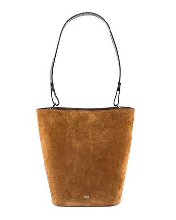 Closed Suede Bag Shoulder Bag