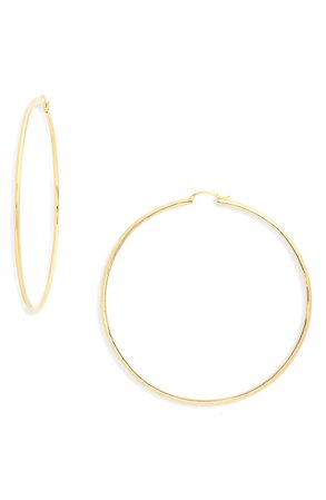 Nadri Oversize Hoop Earrings | Nordstrom