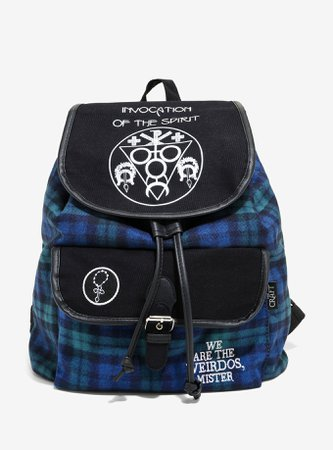 The Craft Plaid Mini Slouch Backpack