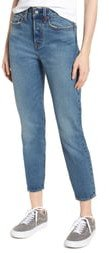 Wedgie Icon Fit High Waist Ankle Jeans