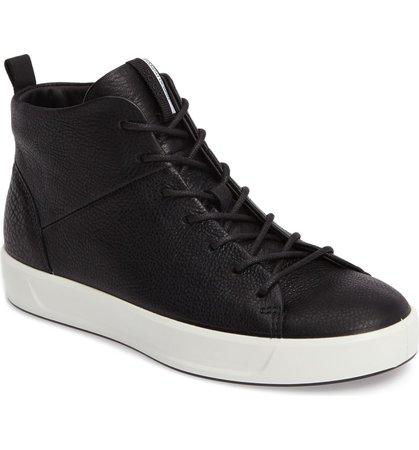 ECCO Soft 8 High Top Sneaker (Women) | Nordstrom