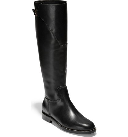 Cole Haan Harrington Knee High Riding Boot (Women) | Nordstrom
