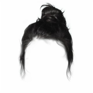 #black #bun #hair #dressup #costume - Lace Wig Free PNG Images & Clipart Download #5326800 - Sccpre.Cat