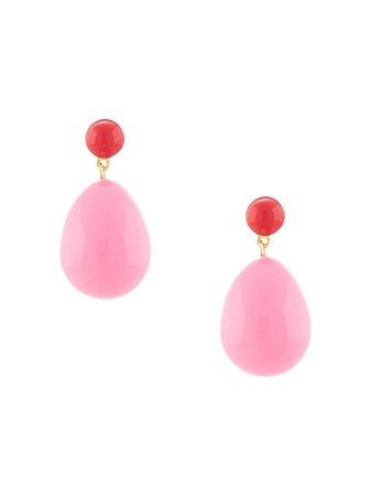 Eshvi Drop Pendant Earrings - Farfetch