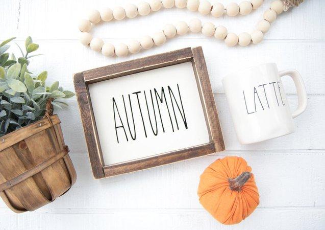 Rae Dunn Inspired Fall Signs-Thanksgiving Signs-Seasonal   Etsy