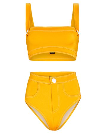 Oye Swimwear Lavinia Bandeau Bikini Set   INTERMIX®