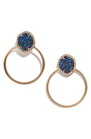 BaubleBar Lutana Hoop Earrings | Nordstrom
