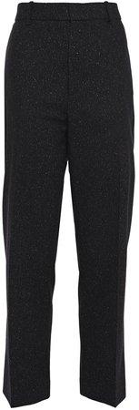 Coman Donegal Wool-blend Tweed Straight-leg Pants