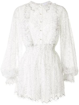 Shop white Alice McCall I Found You playsuit with Express Delivery - Farfetch