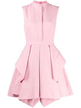 Alexander McQueen draped short dress $2,095 - Buy Online - Mobile Friendly, Fast Delivery, Price