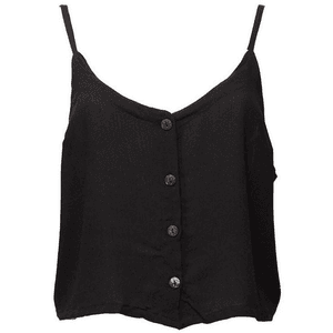 Black Camisole Top PNG