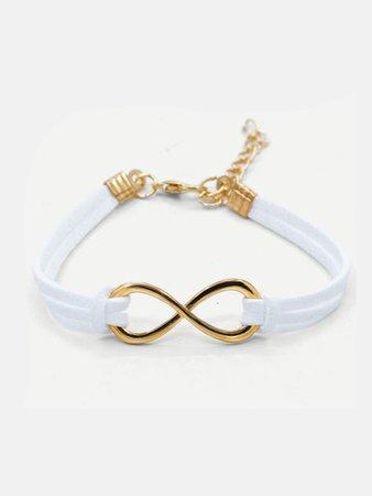 Letter Eight Design Bracelet