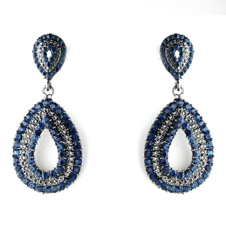 Navy Blue Earings
