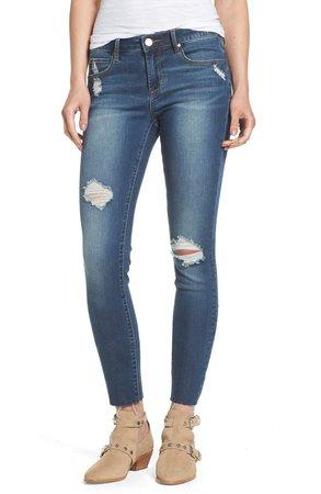 Sarah Distressed Skinny Jeans