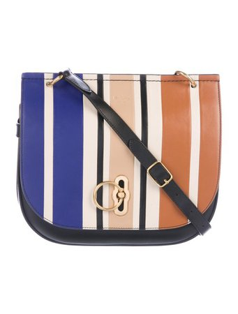 Mulberry Striped Amberley Satchel - Handbags - MUL25248 | The RealReal
