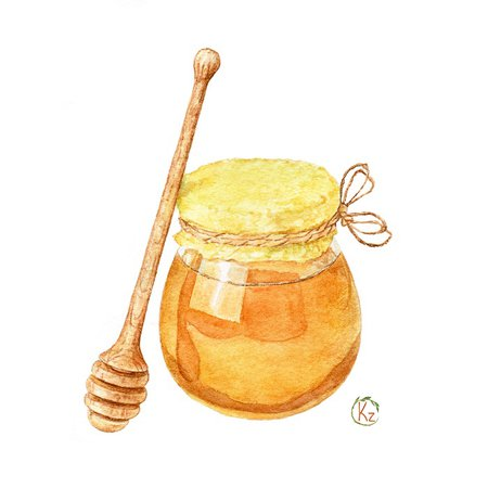 watercolor honey transparent - Google Search