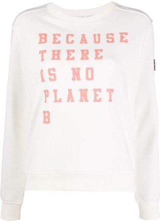 Ecoalf Slogan Print Sweatshirt