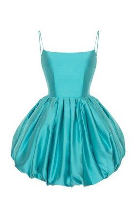 Mini Silk Bubble Dress By Rasario | Moda Operandi