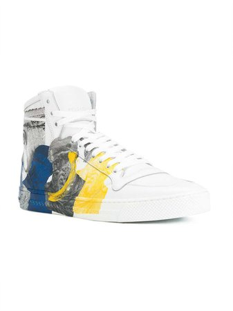 Versace Printed Medusa Hi-top Sneakers $800 - Buy Online - Mobile Friendly, Fast Delivery, Price