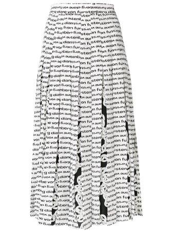 Shop white & black DVF Diane von Furstenberg printed pleated skirt with Express Delivery - Farfetch