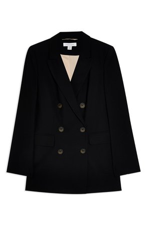 Topshop Double Breasted Blazer | Nordstrom