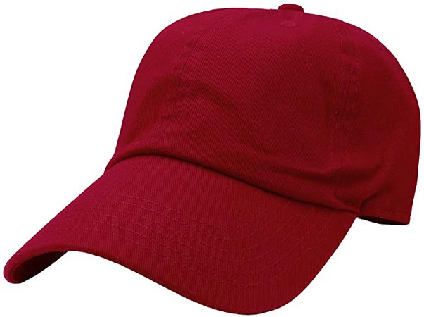 Falari Baseball Cap Hat 100% Cotton Adjustable Size Aqua Blue 1821 at Amazon Men's Clothing store