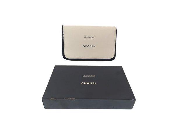 Chanel Clutch bag VIP gifts Polyester Beige ref.69063 - Joli Closet