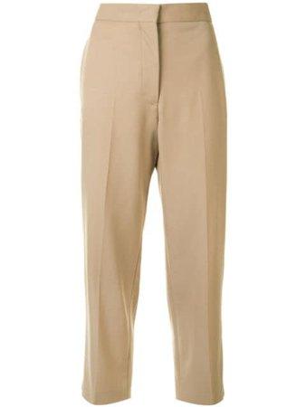 Jil Sander Tailored Cropped Trousers - Farfetch