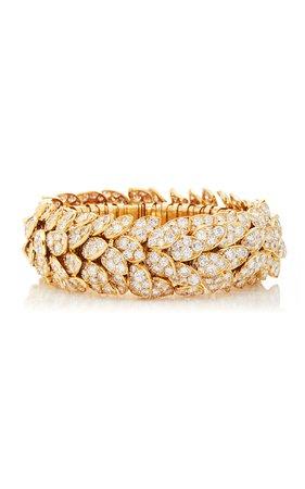 Diamond Bracelet by Vintage Van Cleef & Arpels | Moda Operandi