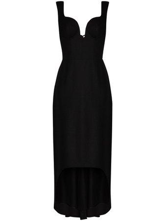Alexander McQueen Sweetheart Oxbridge Flannel Dress - Farfetch