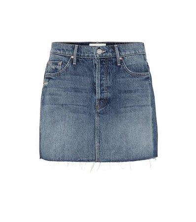 The Vagabond denim miniskirt