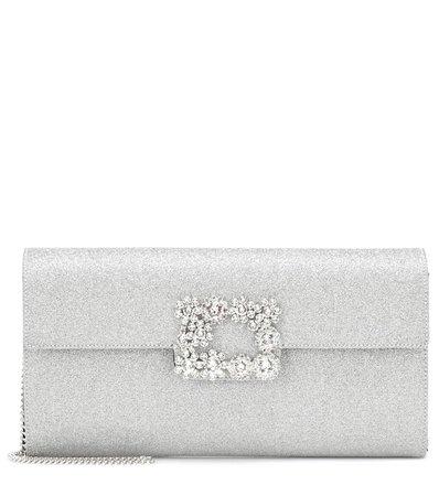Evening Envelope Glitter Clutch | Roger Vivier - mytheresa
