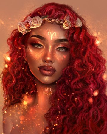 Aries girl