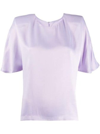 ROTATE Short Sleeved Blouse - Farfetch