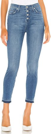 The High Waist Ankle Skinny. - size 28 (also